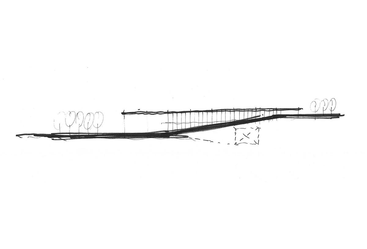 Guildwood GO Station Sketch 01