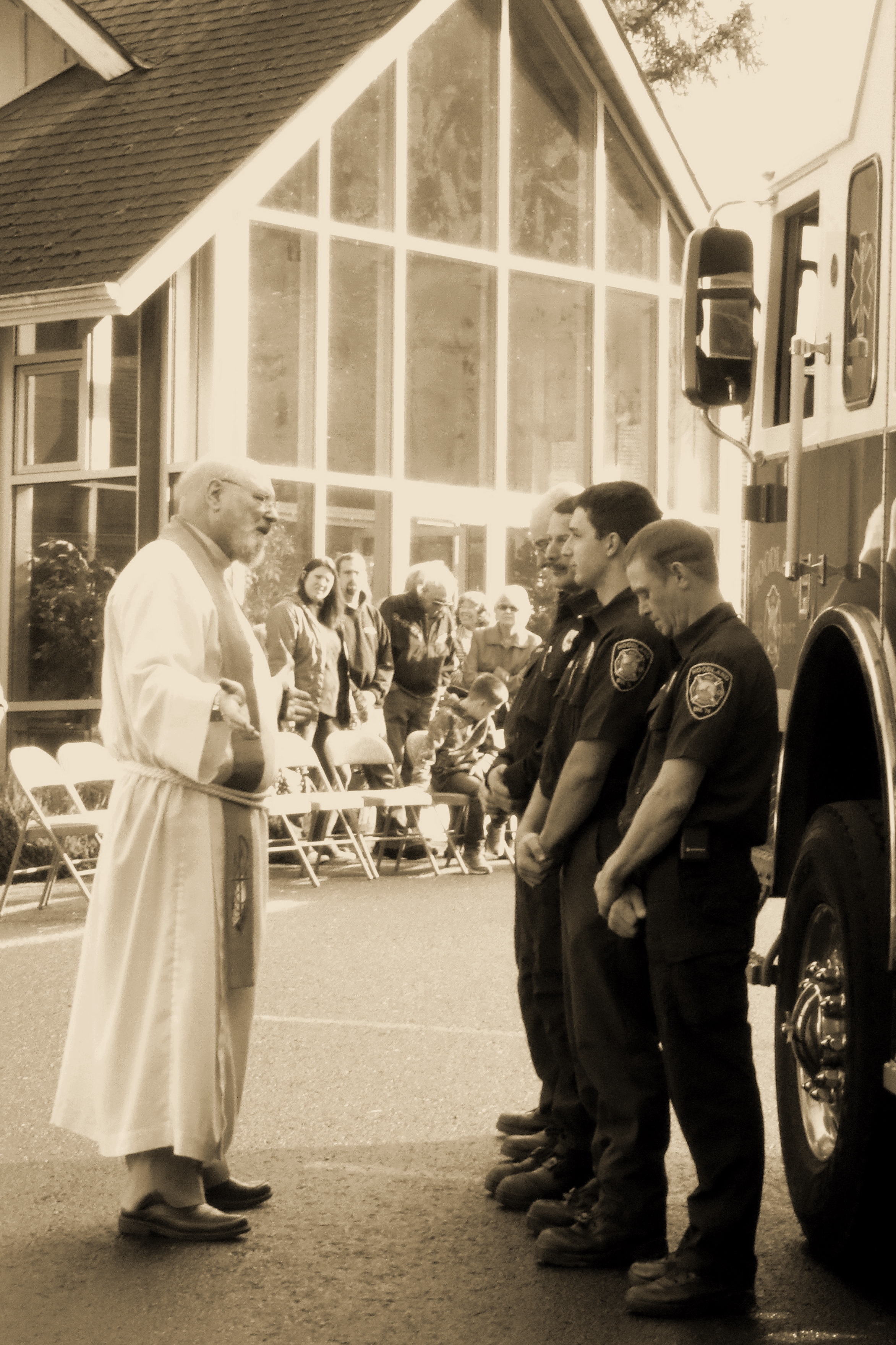 Blessing of the First Responders -