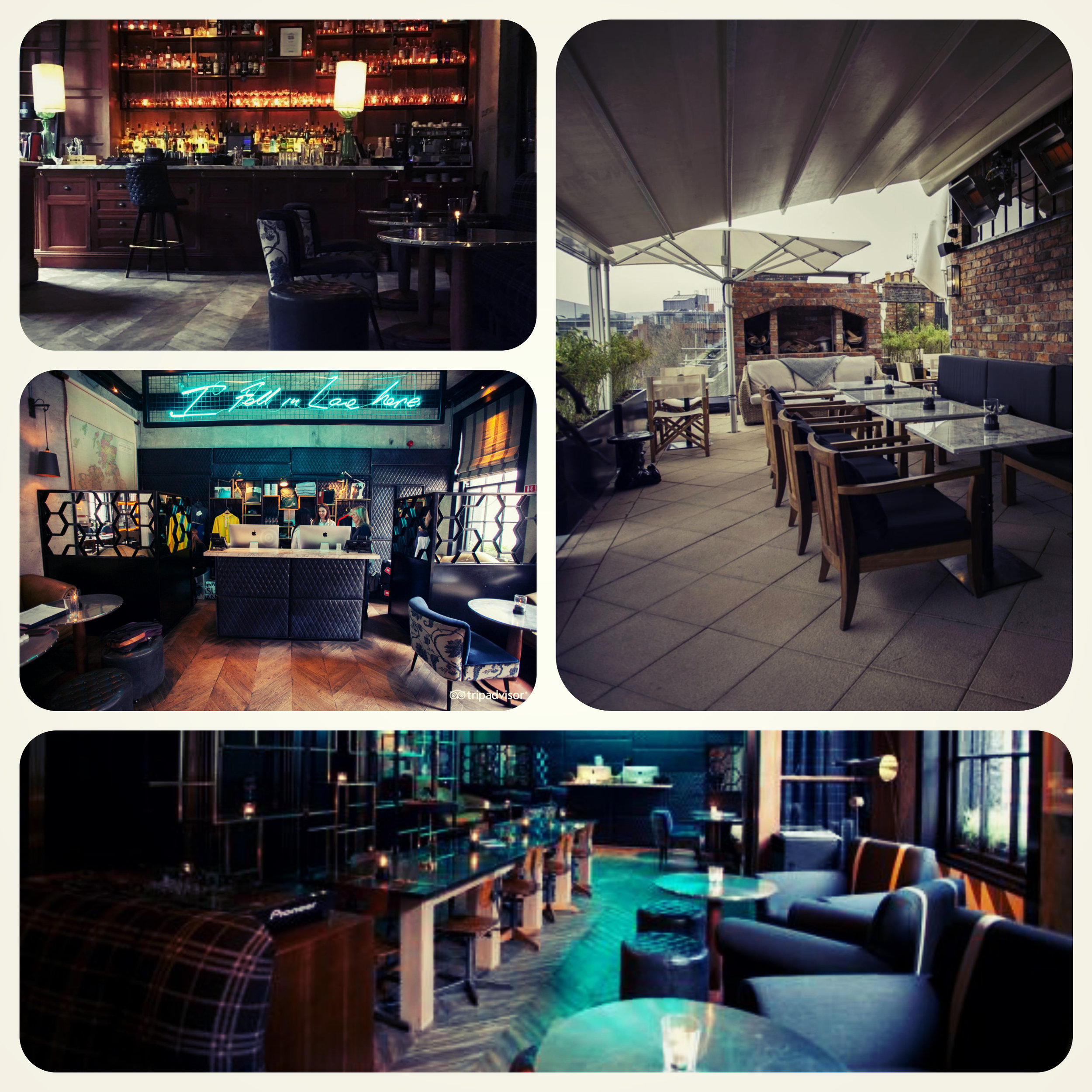 The Bar, the Reception, the Lobby and the fresh-open-air Rooftop terrace. Playground