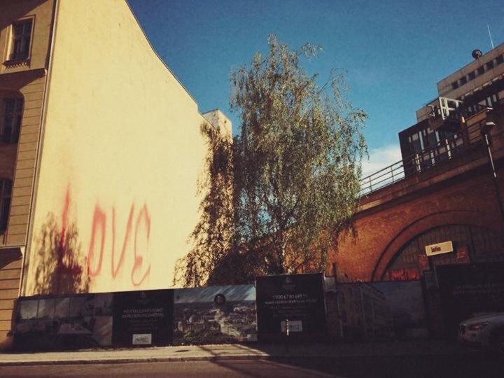 Somewhere around Hamburger Bahnhof, Mitte.