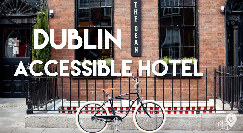 The Dean is with no doubt the coolest wheelchair-friendly hotel in Dublin.   They don't do conventional, they do fun.    Click for a full review.
