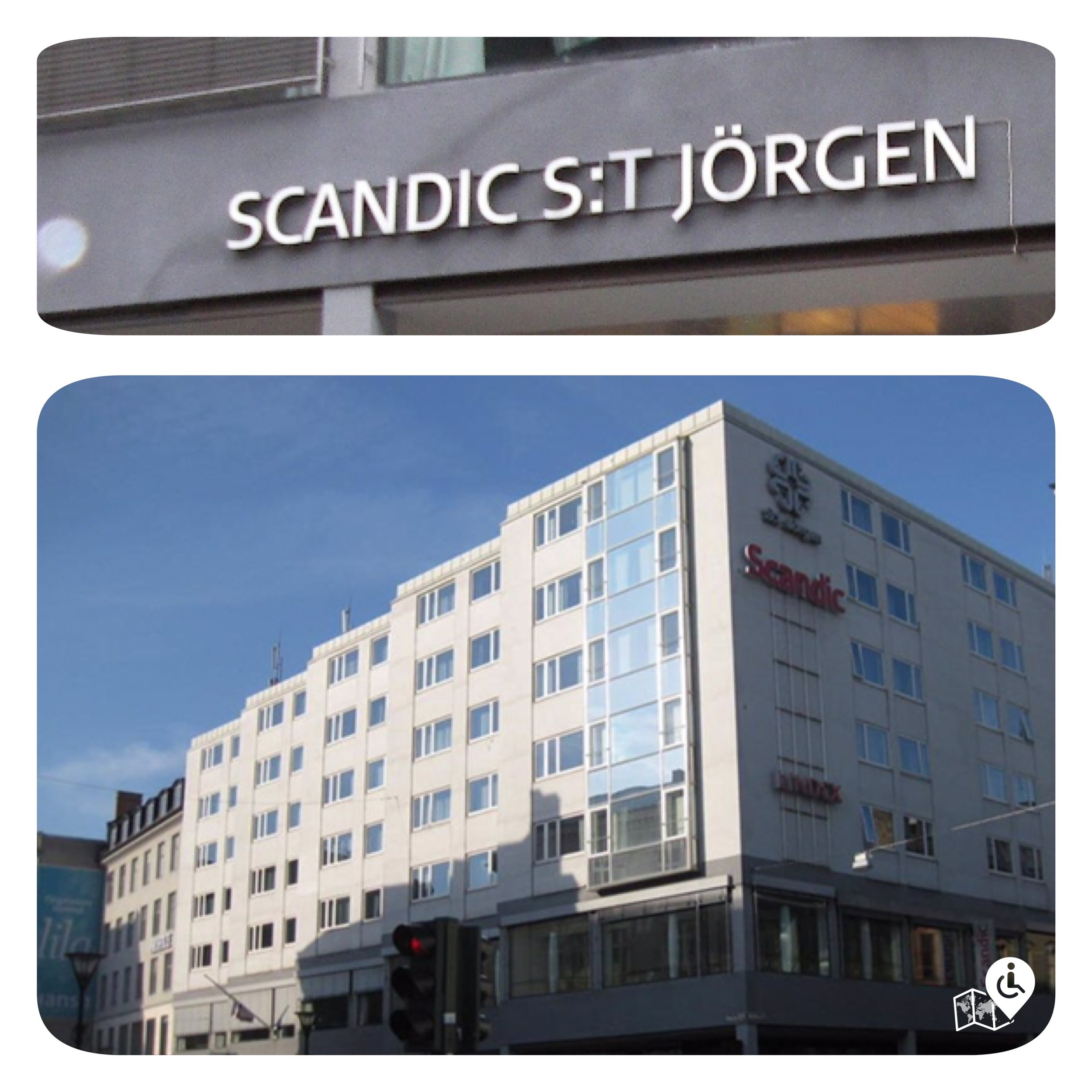 Malmö Scandic St Jörgen is very centrally located, within rolling distance to many shops, parks and restaurants nearby.