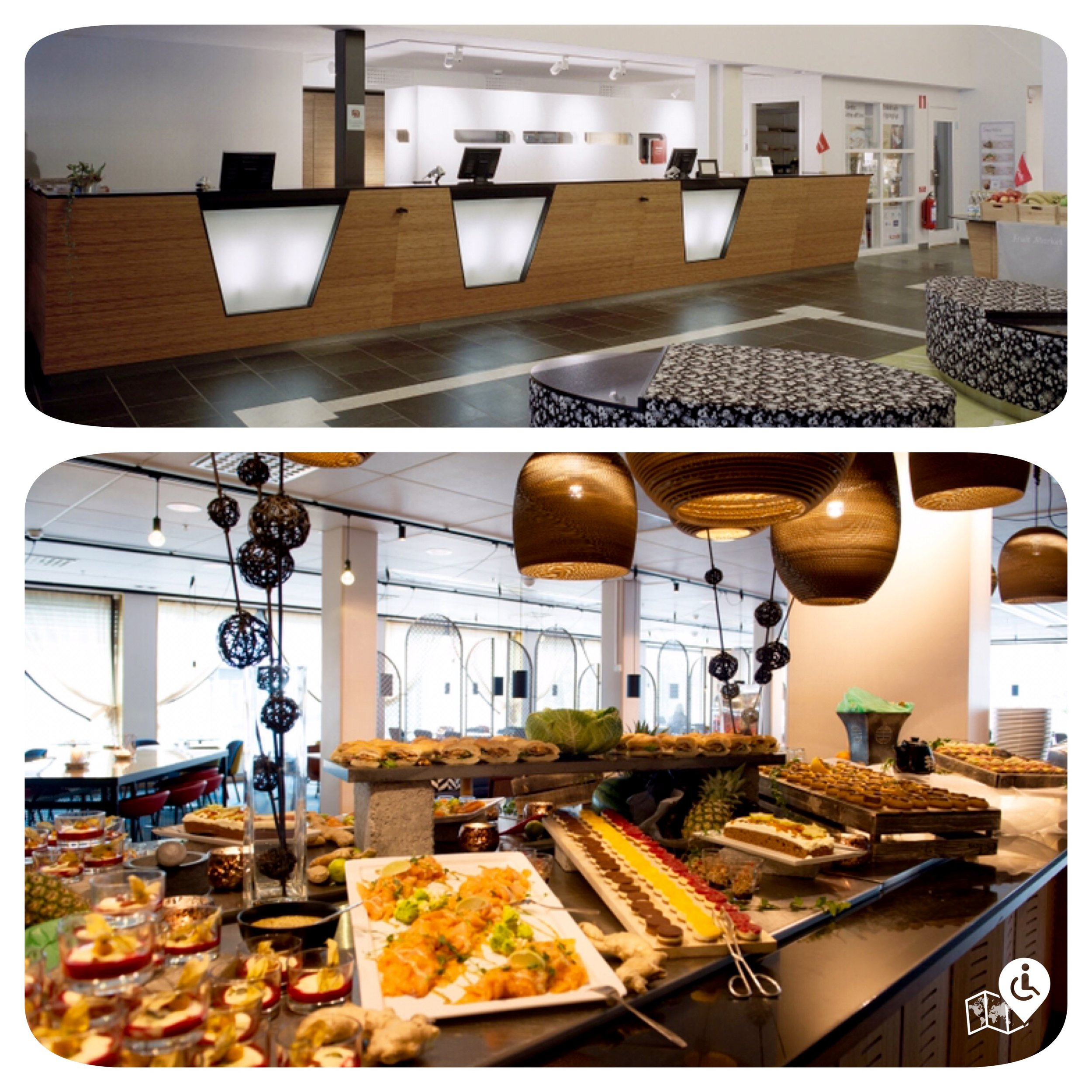 Breakfast buffet was amazing with loads of healthy choices and the staff were very friendly.