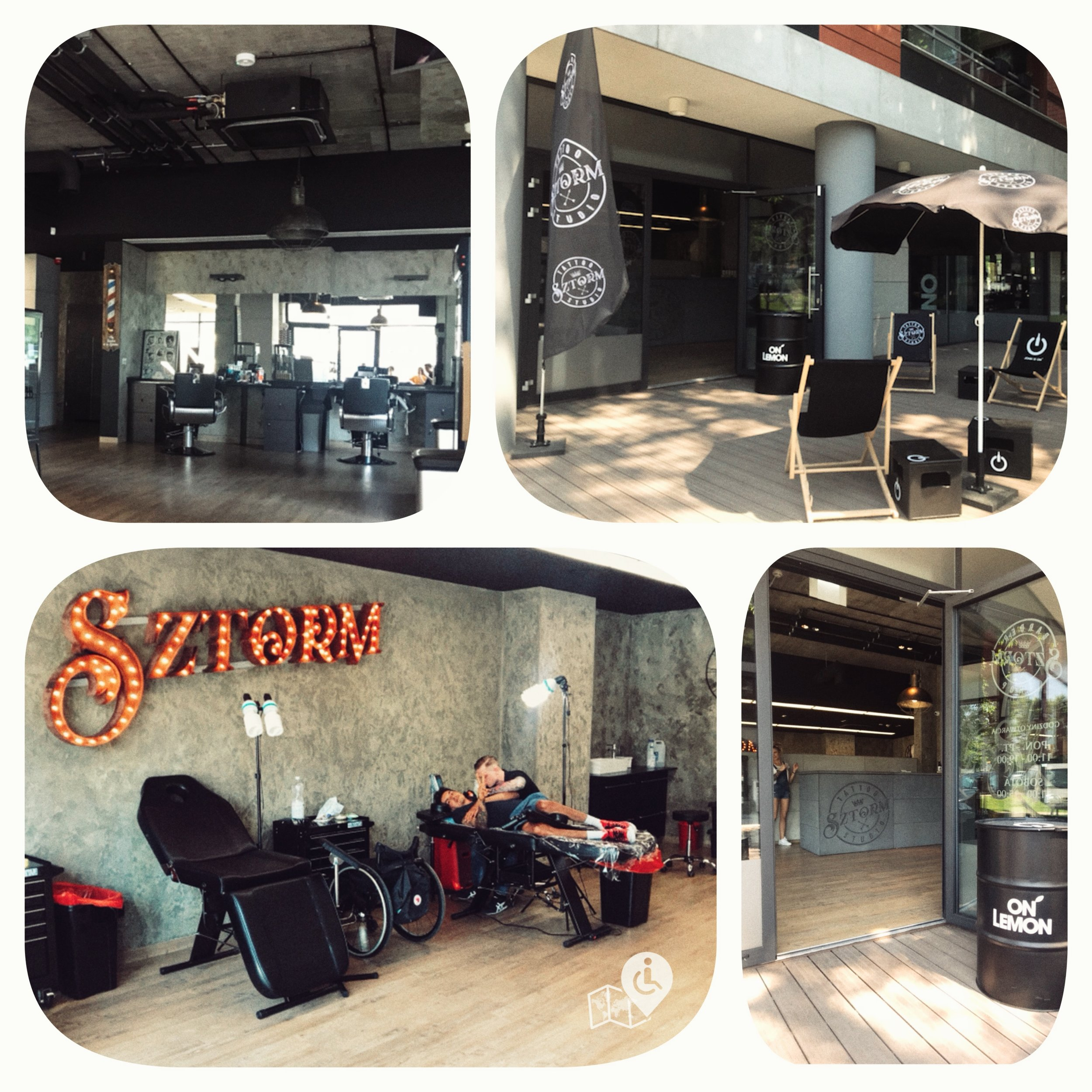 Fully-accessible tattoo studio in Gdansk