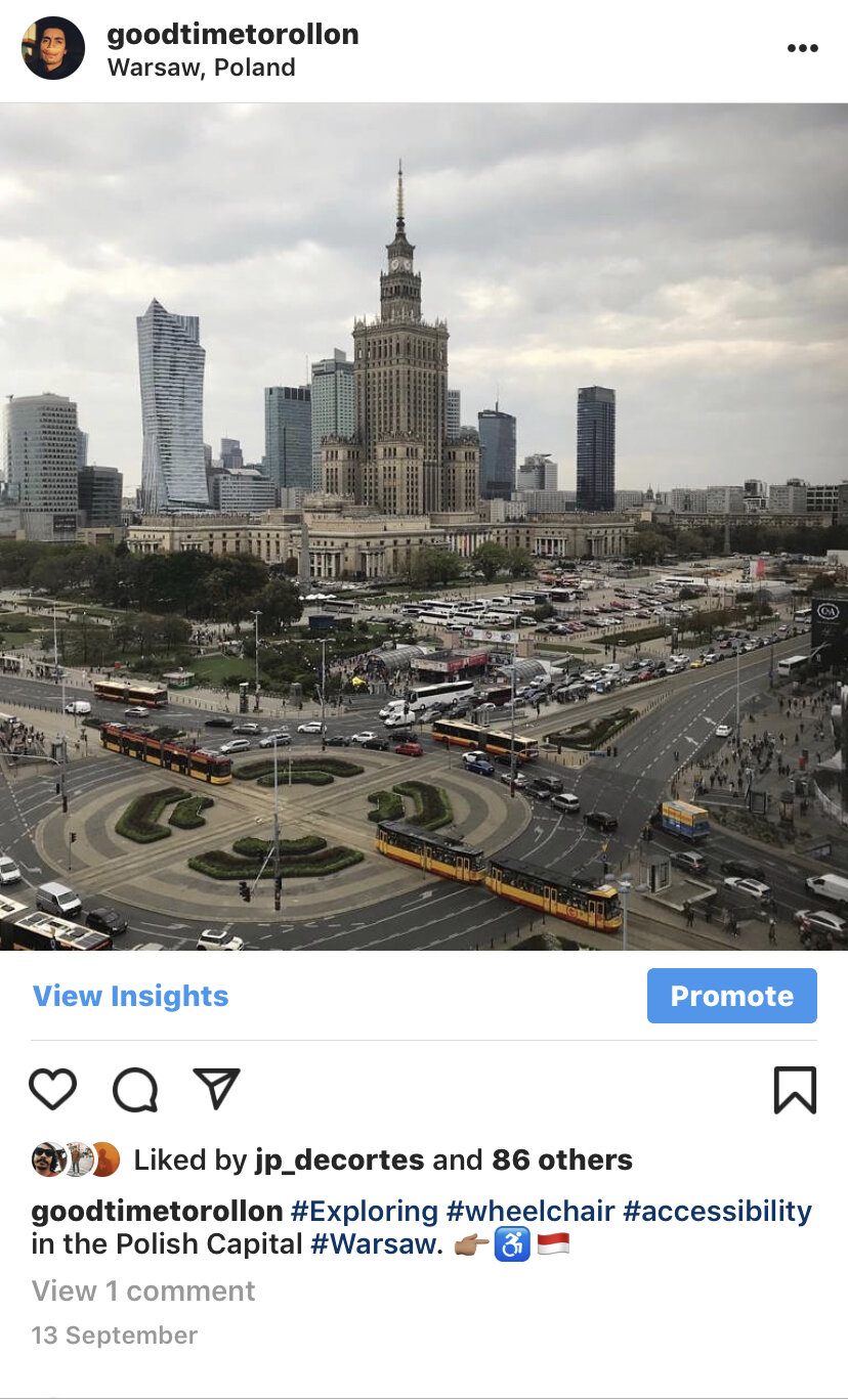 The Polish capital bustles with a confidence and creativity & Novotel Warszawa Centrum has probably the best view of downtown Warsaw.    *Photograph taken from the 11th floor of the hotel.
