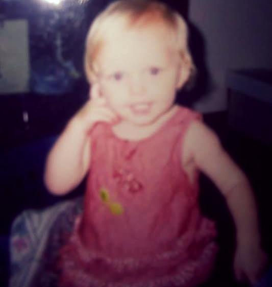 Elizabeth at 2 years old.