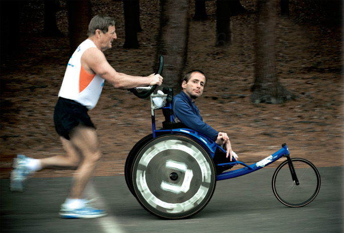 Team Hoyt   Love is extraordinary. So is its expression.