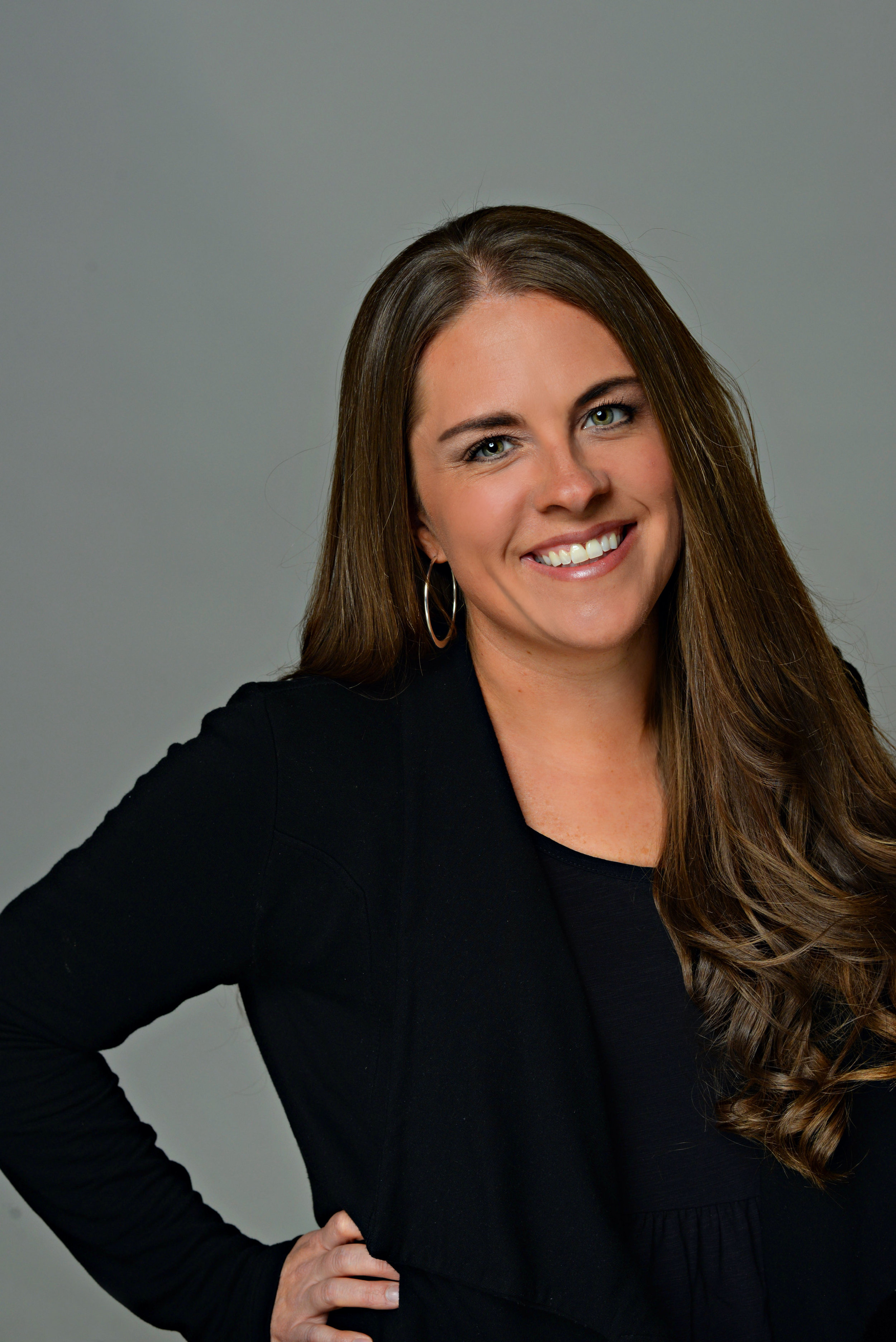 BRITTANY NORDHOFF - She has over 25 years of experience in dance and drill. She coached the Grand National Champion Brighton Drill team for 5 years. She has been judging for the past 15 years for many dance competitions. She teaches our team rehearsals, jazz technique, and is our Solo Director. She is a huge Disney fan and loves golfing and going on vacation with her husband!