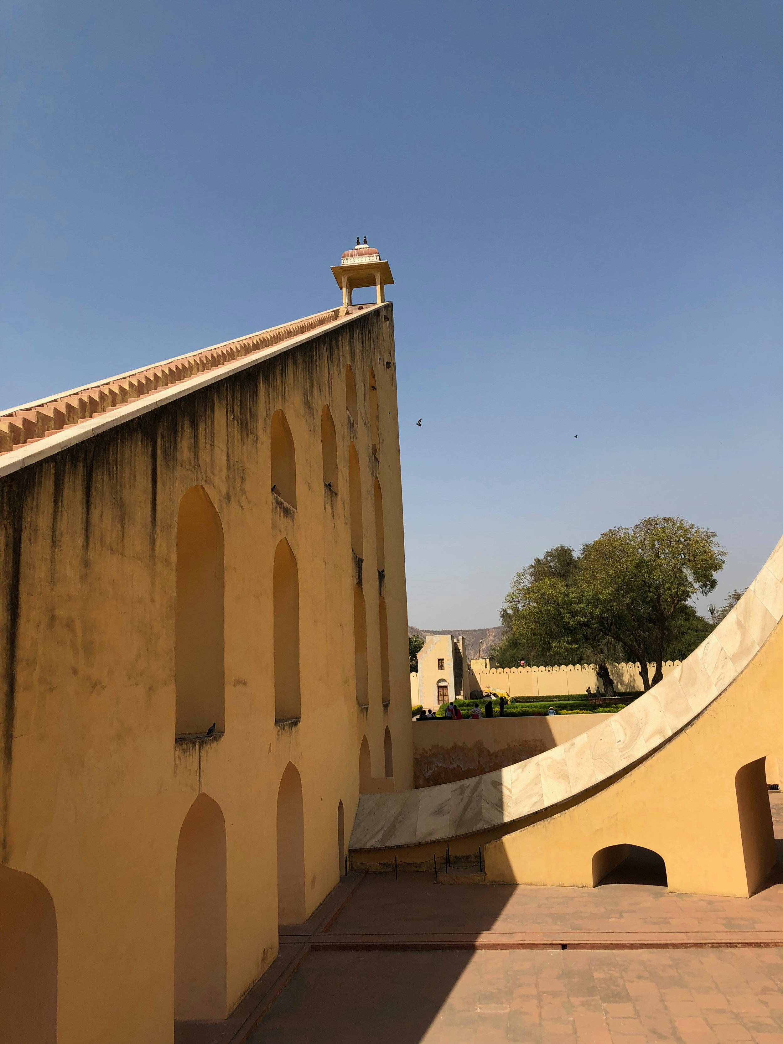 Jantar Mantar, The largest sundial in the world