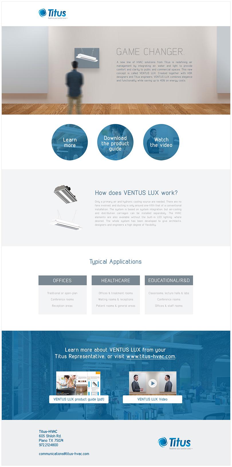 Web Landing Page