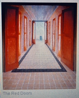 The Red Doors, painted in the 1980s