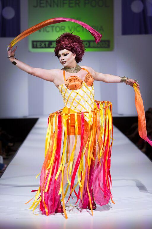 Designer: Jennifer Pool  Model: Nicolette NuVogue  Photographer: Heather and Jameson  Styling: Victor Victoria