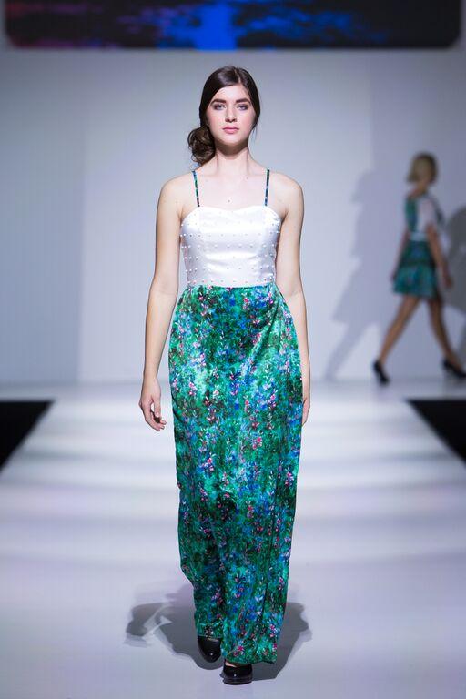 Designer: Alison Cloet  Model: Develop Model Management  Stylist: Seven Salon