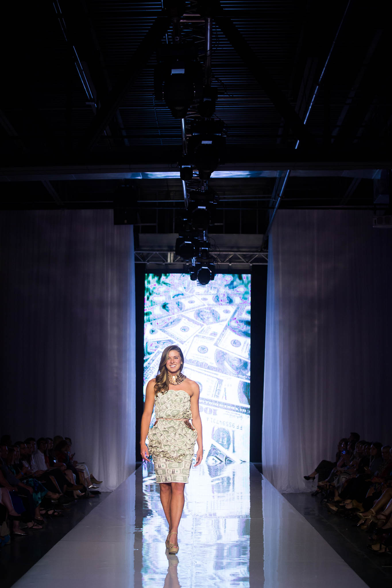 Money Dress, Designed by Alesha Johnson