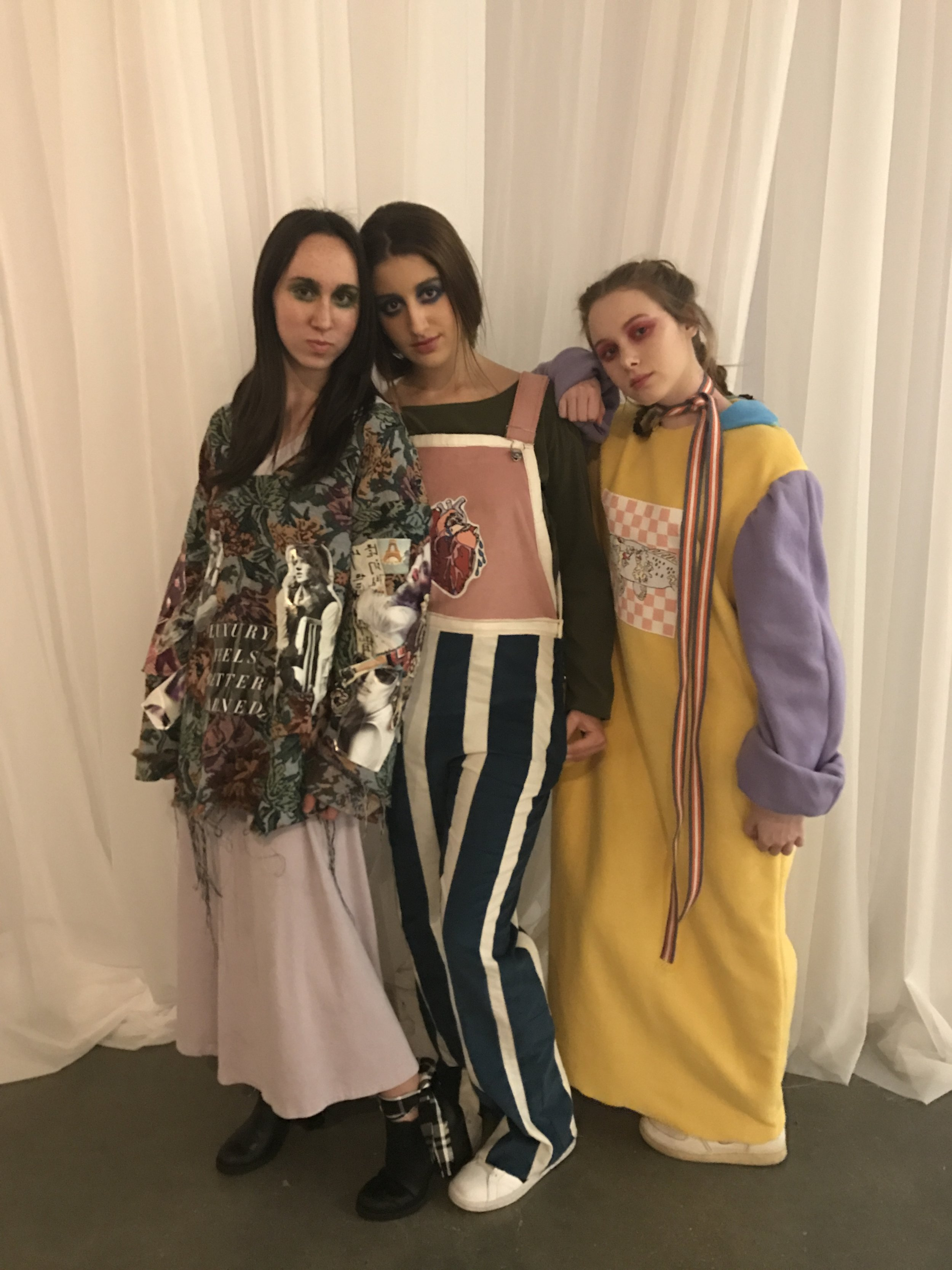 Three looks from the OFW student night in February 2017.