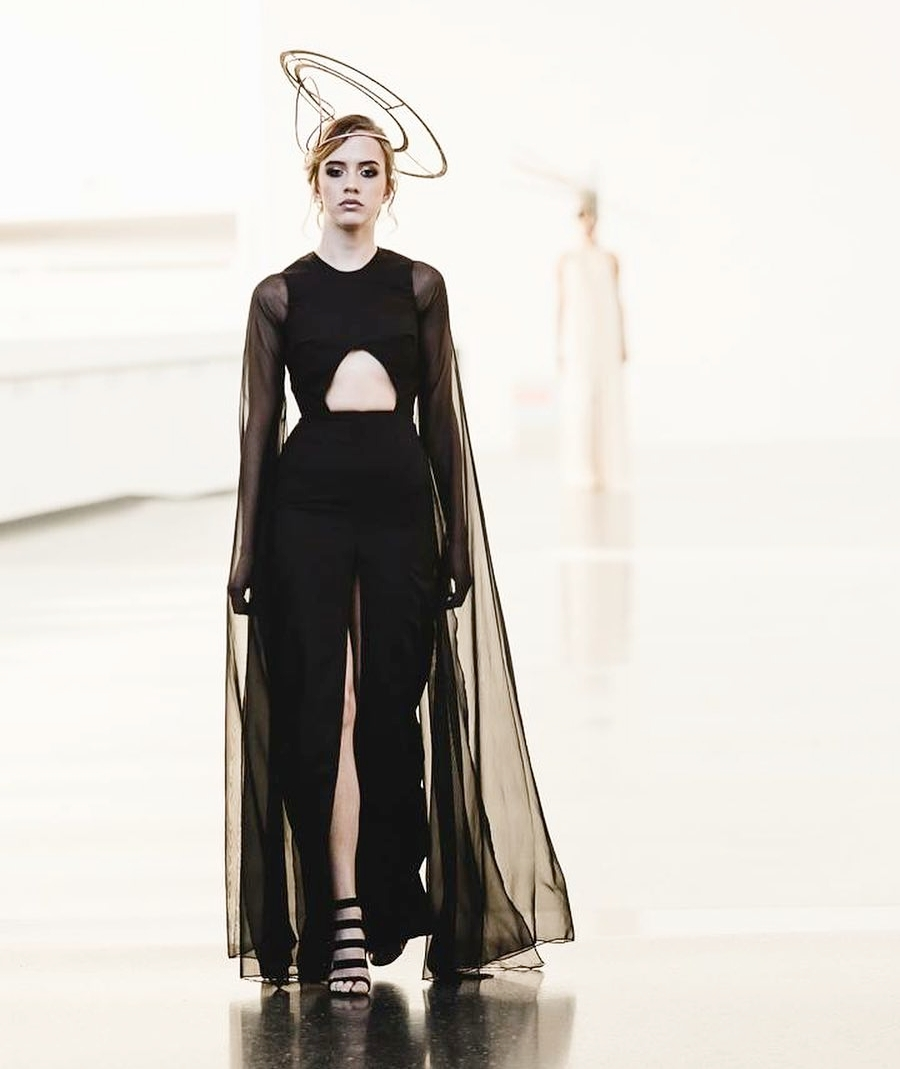 Roger Figueroa's first Fashion Week collection.