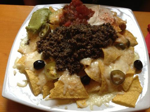 haggis nachos