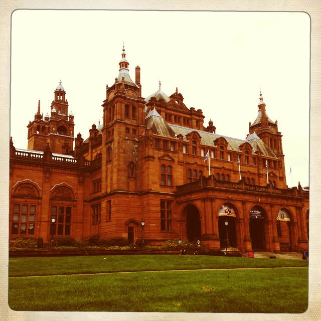 Kelvingrove all fancied up.