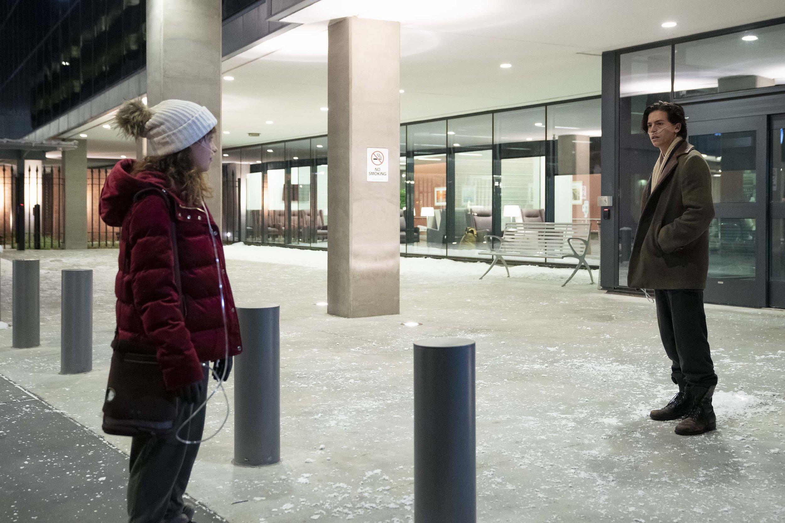 Haley Lu Richardson, Cole Sprouse  Alfonso Bresciani/CBS/Lionsgate
