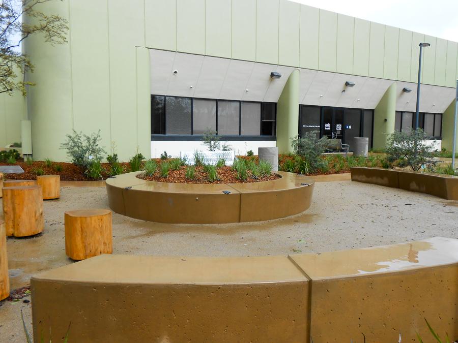 Front Entrance & Garden
