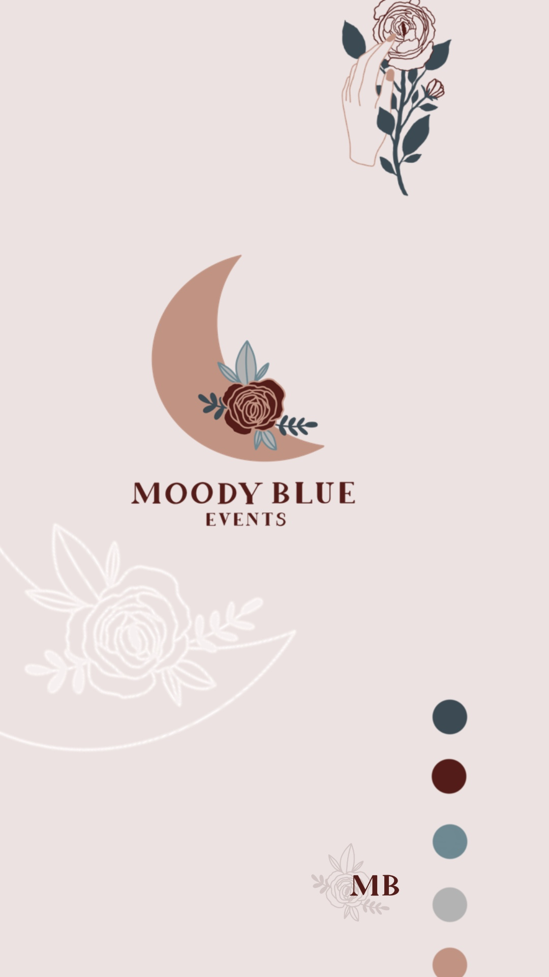 logo design for event planner. wedding planner. branding