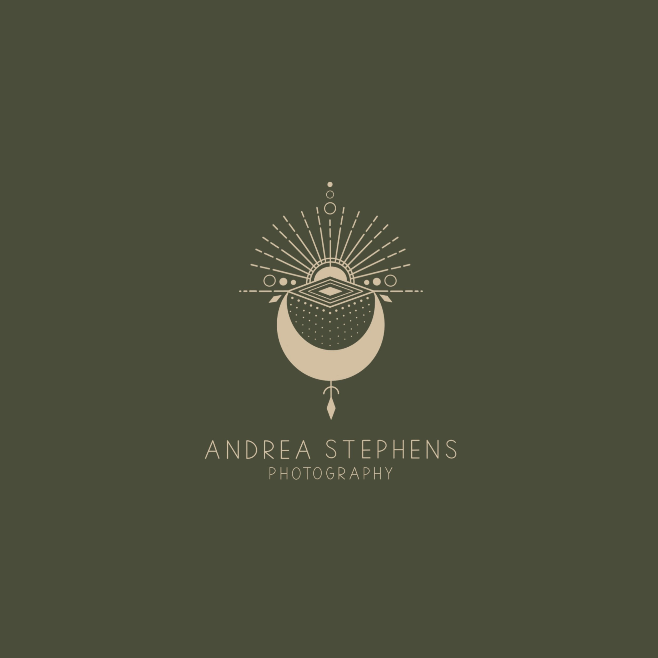 geometric logo photographer