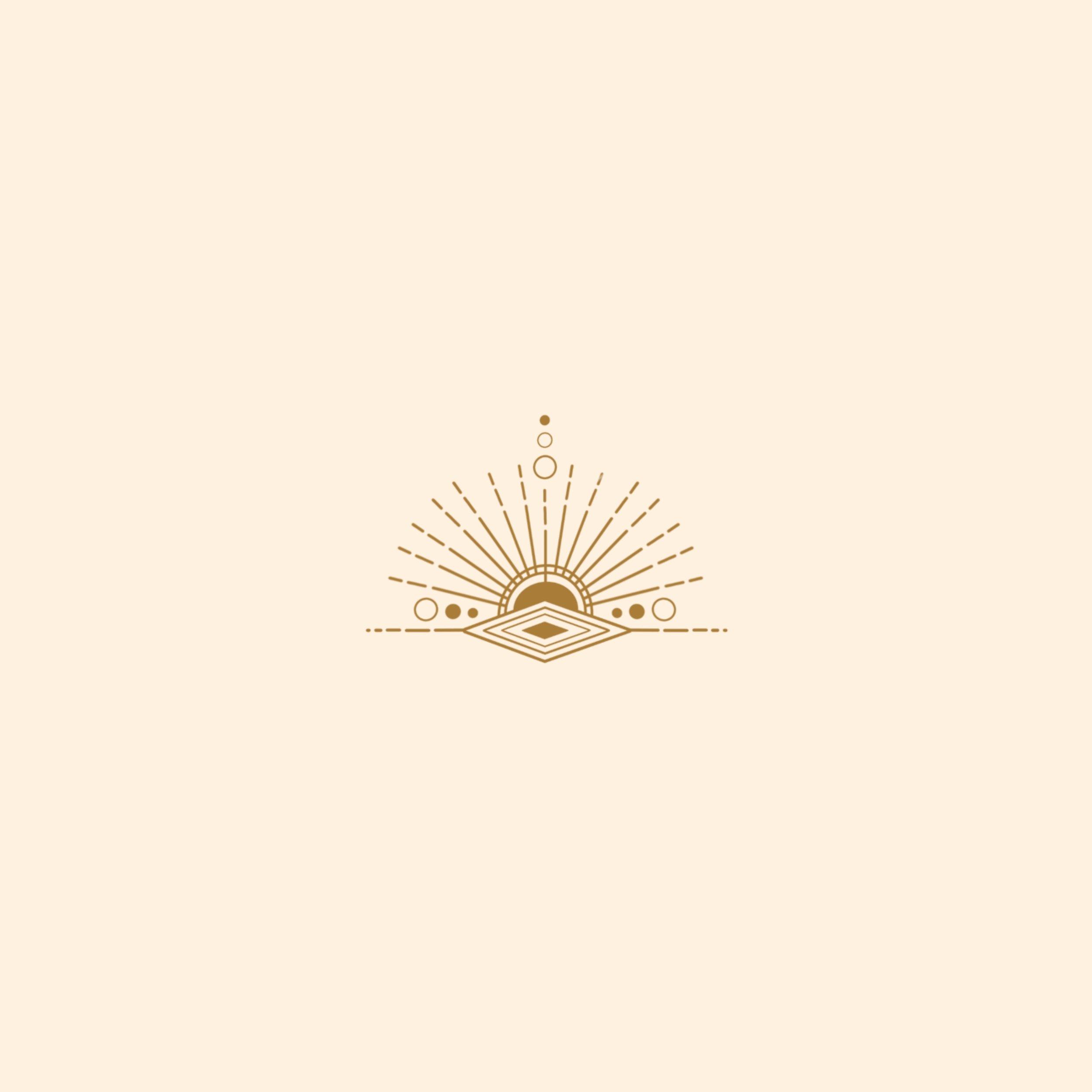 sunbursts logo branding icon