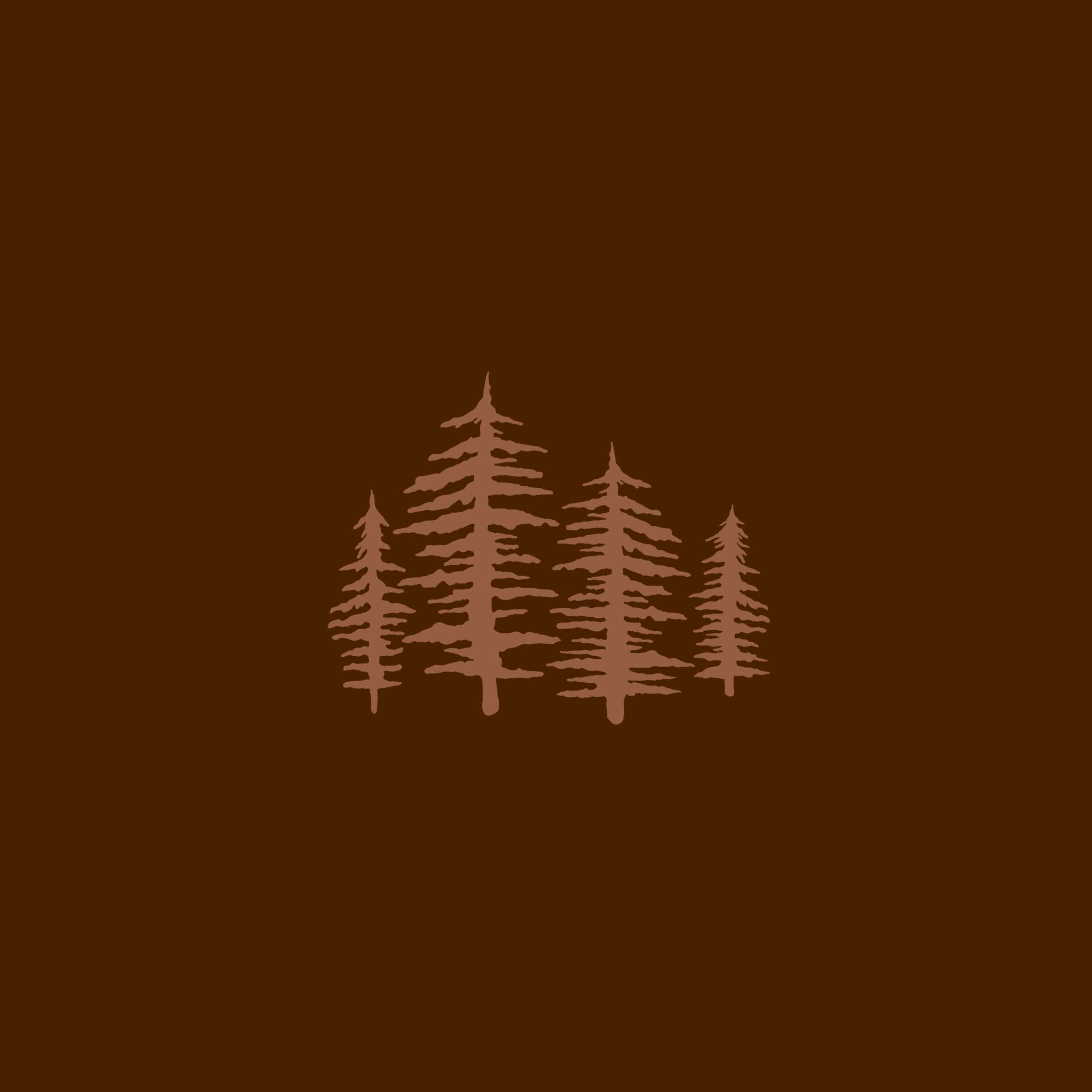 pine trees icon for wedding photographer