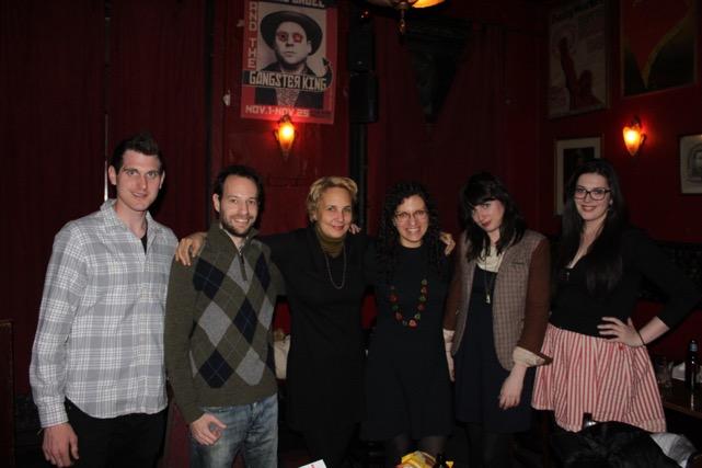 Group shot with host Ryan Davenport & photographer Kirsten Major