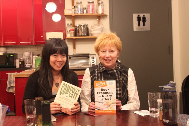 Rebecca Louie (left) and Marilyn Allen