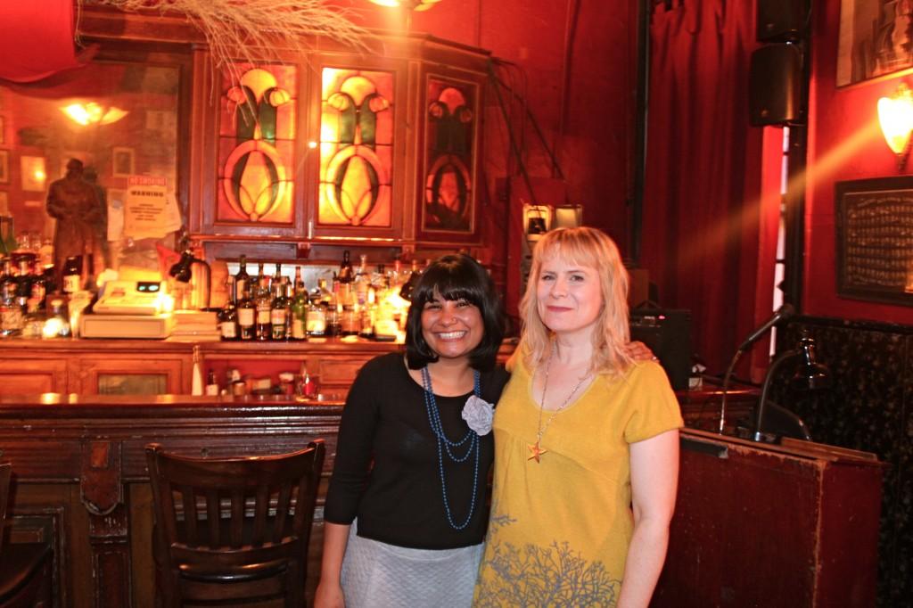 Aurvi Sharma (L) and Christine Hamm (R)