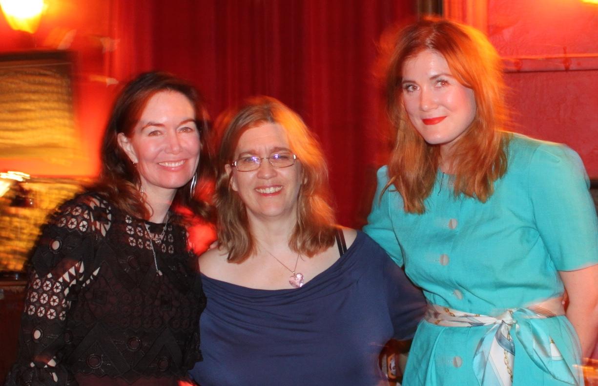 L to R: Sarah, Julia, Kiri