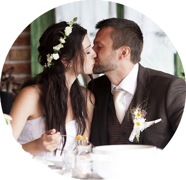 Wedding Receptions - 80% of our business is weddings. With ten years plus in the wedding business, we have the kind of experience that allows you to focus on the wonderful part of this special day, like the joining of two families into one.