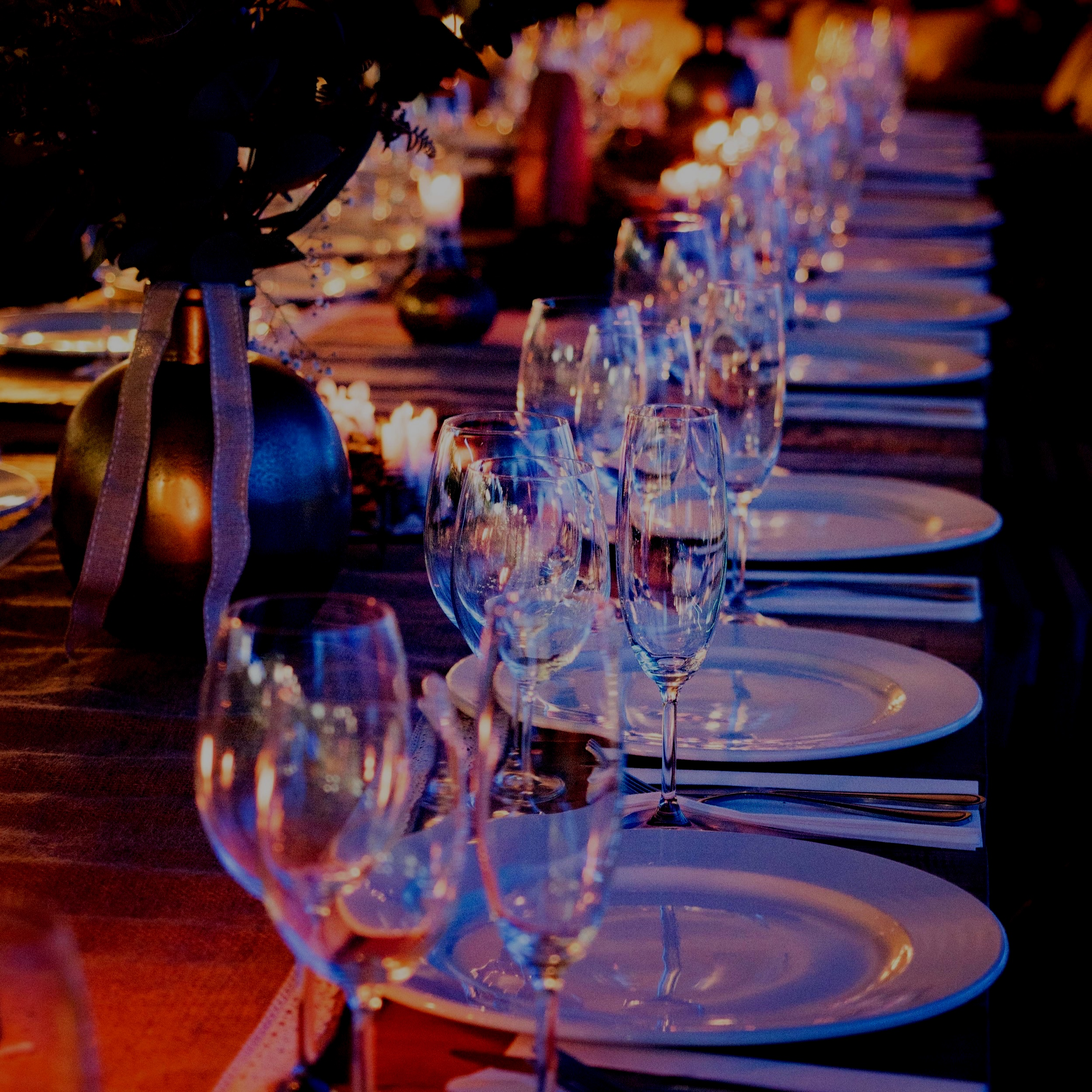 Event Packages - Butler passed hors d'oeuvres, full service dinner buffets or plated with service staff, beverage stations and more. Choose a full service package or pick and choose the individual services that fits your needs best.