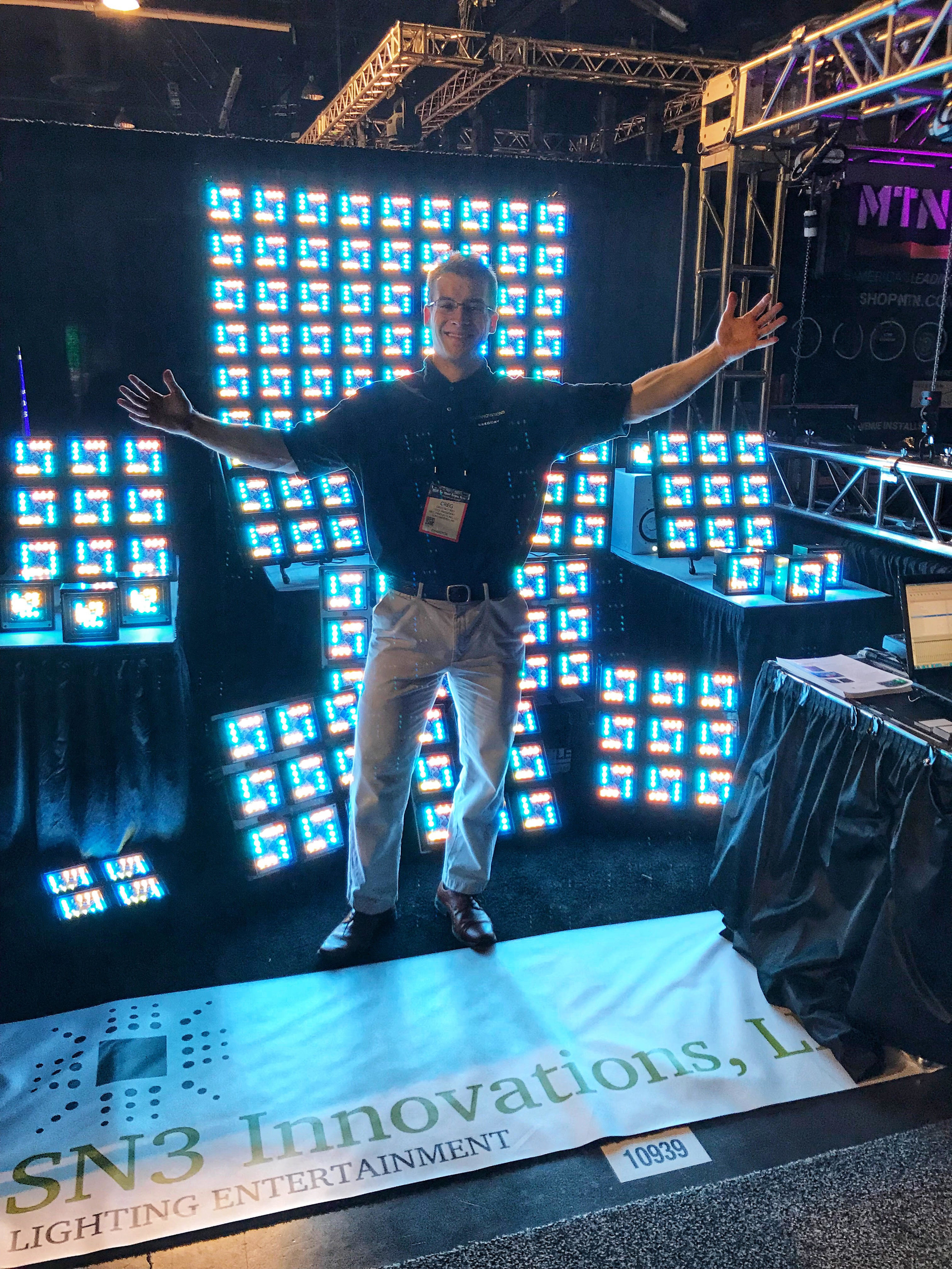 Winter NAMM Show - Sn3 Innovations Booth # 10939  (Master/Slave operation with DMX control simultaneously)