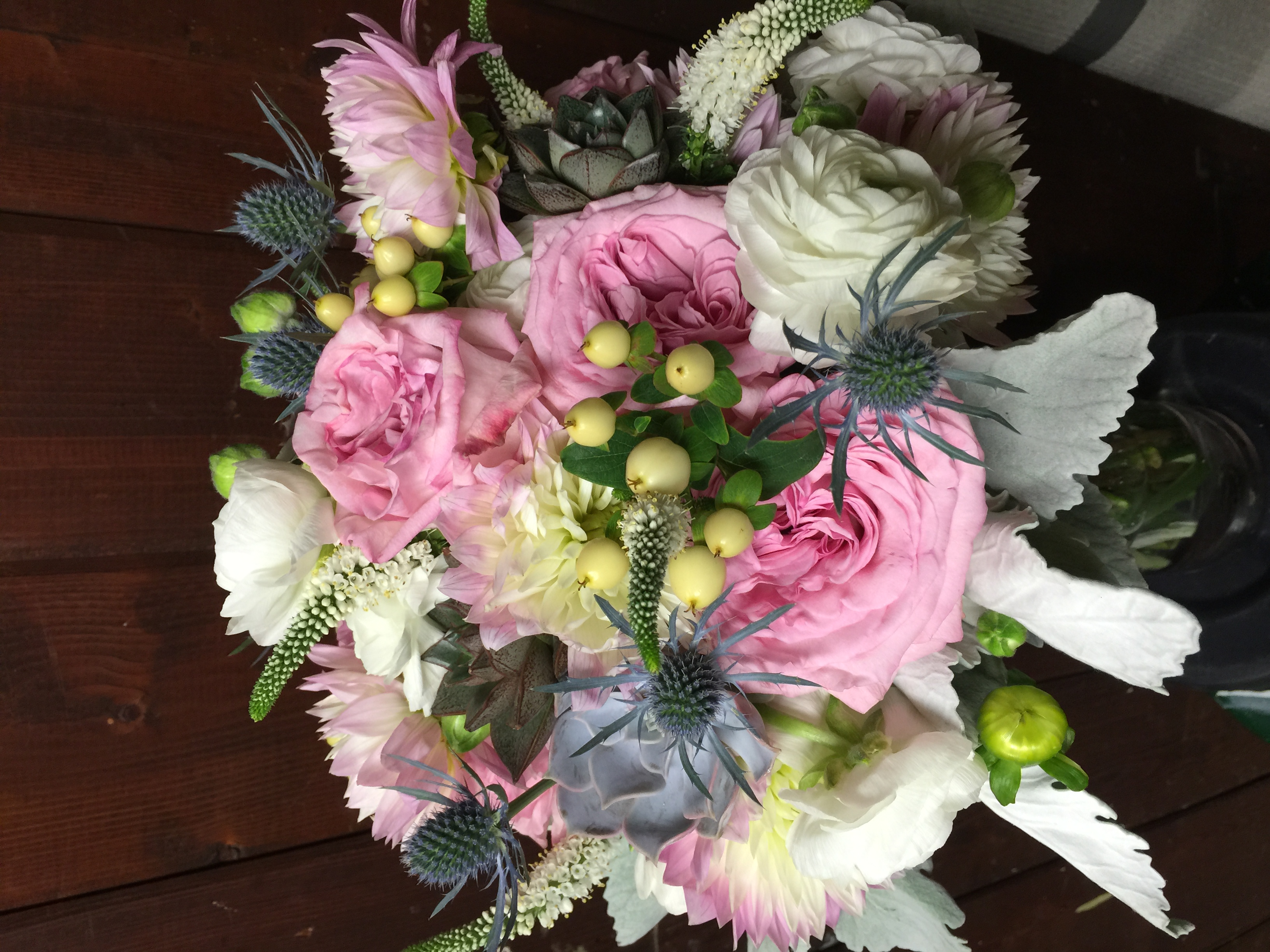 ALL ABOUT THE BOUQUET...