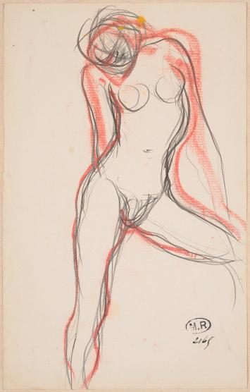 Female Nude with Left Leg Outstretched .jpg