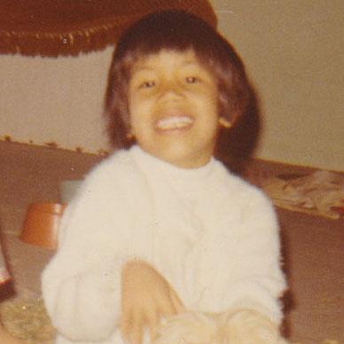 Little Melanie age 4