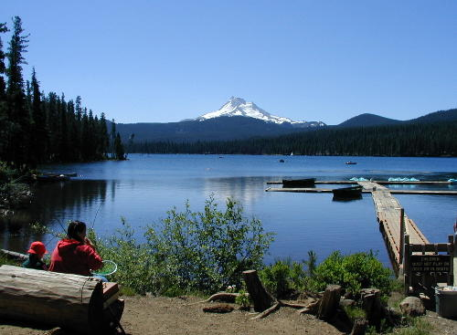 Olallie Lake Resort, Oregon