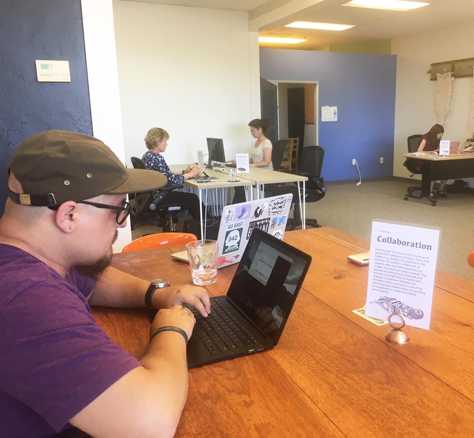 Open Coworking Area