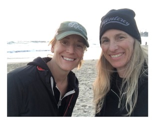 Left: life coach client Kay Ziegenhagen Right: Joy Hansen, Life Coach