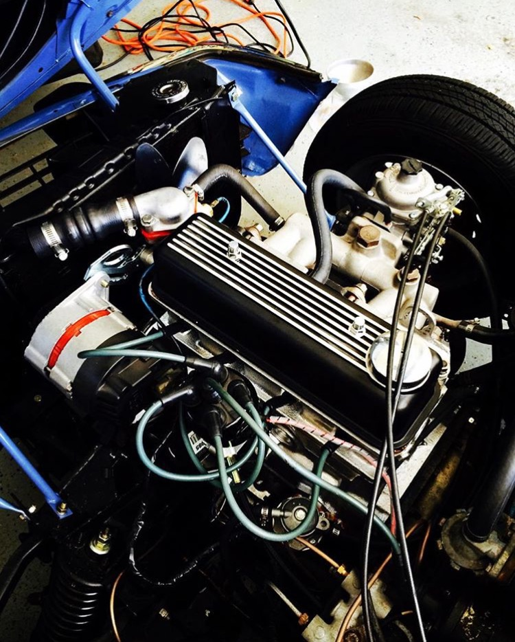 Triumph Spitfire 1500 Engine from   Michael Telzrow