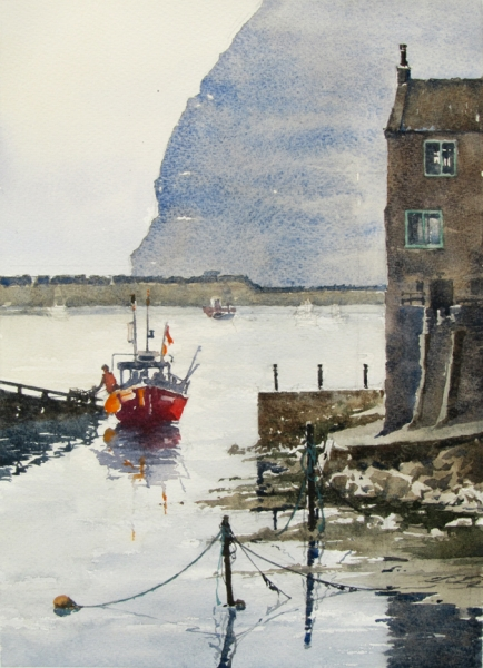 Heading Out,  Staithes
