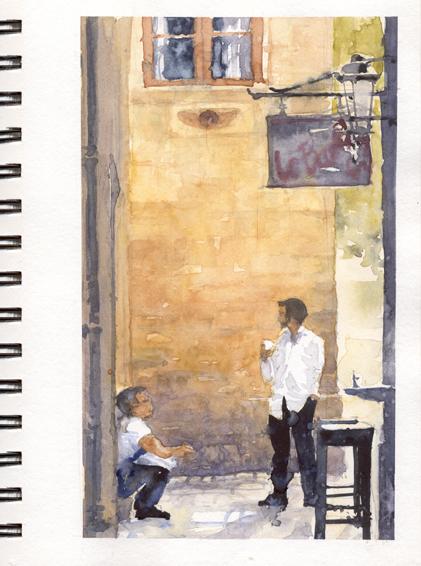 Cafe Break in Sarlat copy.jpg