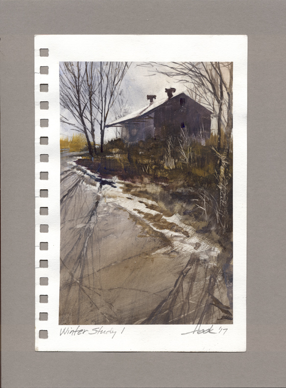 SOLD    Winter Study