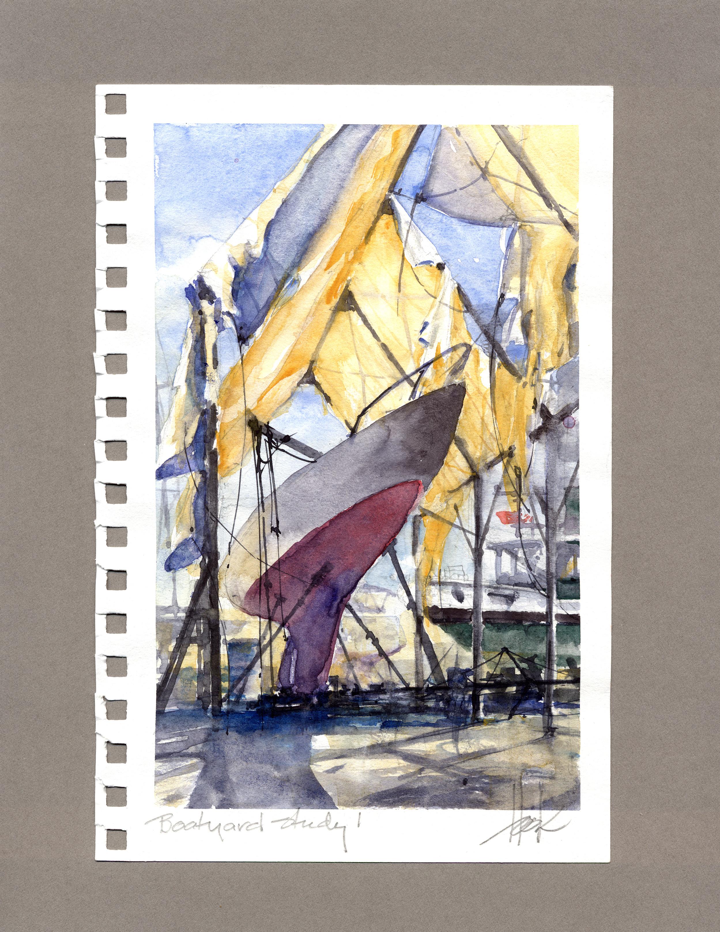 Boatyard Study 1