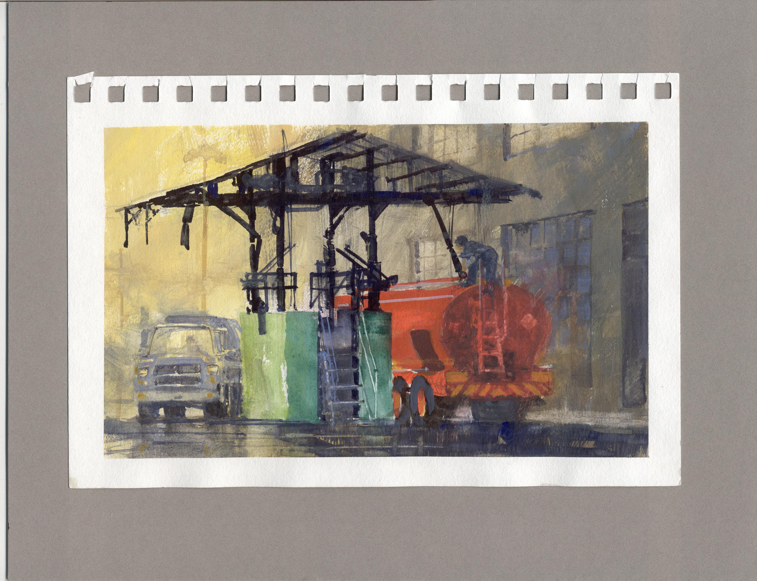 Fuel Dock Study 1