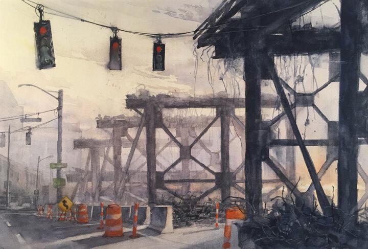 """Demolition Series 16 """"Skeletons"""""""