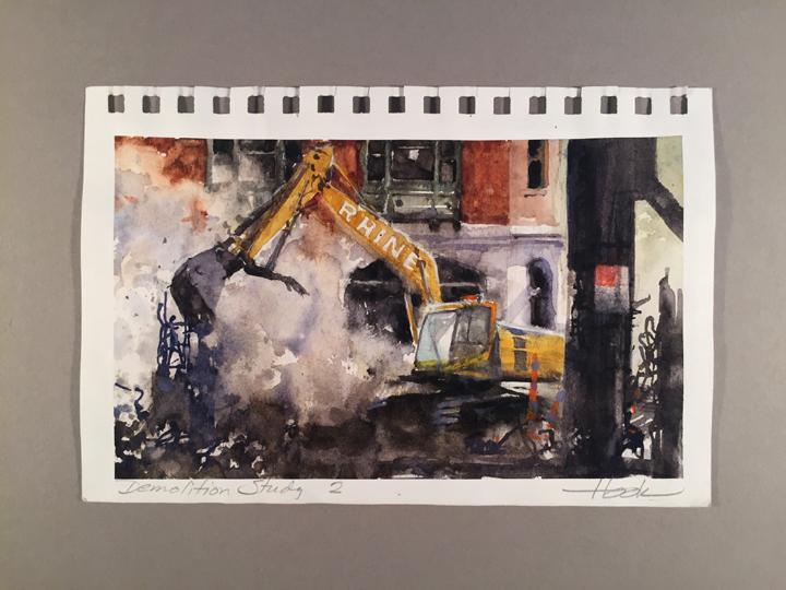Demolition Series Study 2