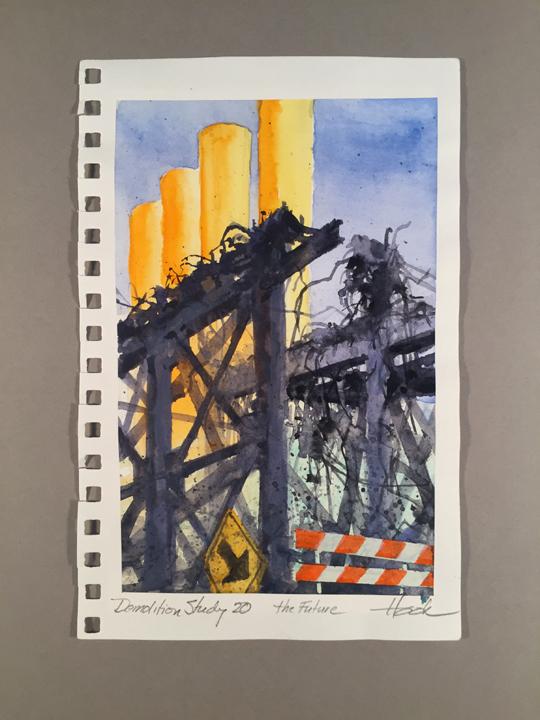 Demolition Series Study 20